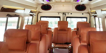 Rent Tempo Traveller for Travel Services