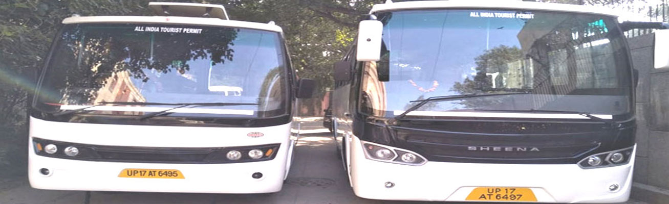 Hire online Tempo Traveller