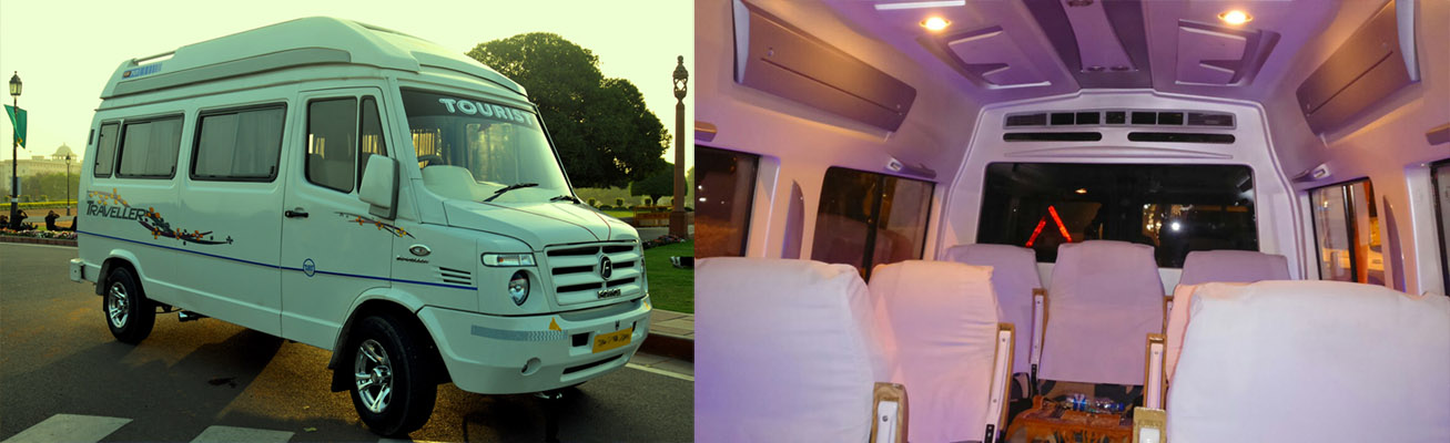 Hire Tempo Traveller for Outstation